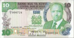 Kenia Pick-Nr: 20a Bankfrisch 1981 20 Shillings - Kenia