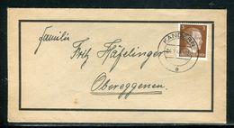 Allemagne - Enveloppe De Kändern Pour Obereggenen En 1944 - Ref D62 - Briefe U. Dokumente