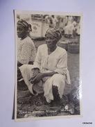 Trinidad-Typical Creole Vendor-Carte Photo - Trinidad