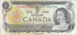 Kanada Pick-Nr: 85b Bankfrisch 1973 1 Dollar - Canada