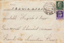 Regno Storia Postale - Posta Militare 152 Russia (viaggiata 28.09.1942) - 1900-44 Vittorio Emanuele III