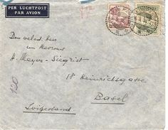 Ned. Indie, Timor, Koepang, 1935, Airmail Cover To Switzerland, See Scans! - Indes Néerlandaises
