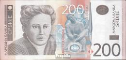 Serbien Pick-Nr: 57a Bankfrisch 2011 200 Dinara - Serbia