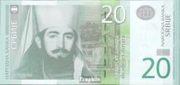 Serbien Pick-Nr: 55a Bankfrisch 2011 20 Dinara - Serbia