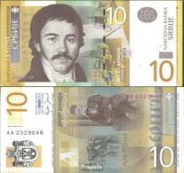 Serbien Pick-Nr: 46a Bankfrisch 2006 10 Dinara - Serbien