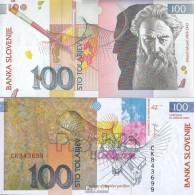 Slowenien Pick-Nr: 31a Bankfrisch 2003 100 Tolarjev - Slowenien