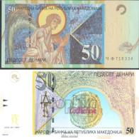 Makedonien Pick-Nr: 15d Bankfrisch 2003 50 Denari - Mazedonien