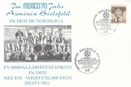 FUSSBALL-FOOTBALL-SOCCER- CALCIO, Mexico, 1970, Special Cover / Stamp / Cancellation !! - 1970 – Mexico