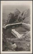 Mullion Cove Harbour, Cornwall, 1953 - Hawke RP Postcard - England