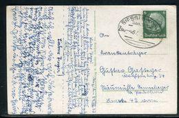Allemagne - Carte Postale En 1937 , Oblitération Plaisante - Ref D69 - Briefe U. Dokumente