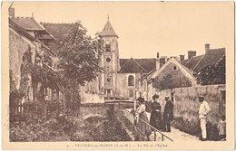 77. VILLIERS-SUR-MORIN. Le Rû Et L'Eglise. 9 - Autres Communes
