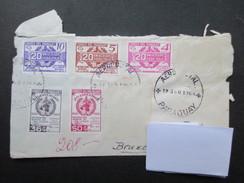 PHILATELIE (V1504) RECOMMANDé PARAGUAY (2 Vues) AEROPOSTAL ASUNCION N°130451 1968 - Paraguay
