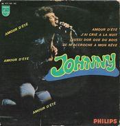 Johnny Hallyday 45T 4 Titres - 1967 - Amour D'été, Aussi Dur Que Du Bois, J'ai Crié à La Nuit, Je M'accroche à Mon Rêve - 45 Rpm - Maxi-Singles