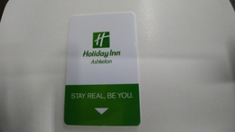 Israel-hotey Key-(456)-holiday Inn-ashkelon-hotals-(looking Out Side)-used+1card Prepiad Free - Hotelkarten