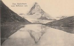 DAS MATTERHORN VOM RIFFELSEE AUS     ZERMATT - VS Valais