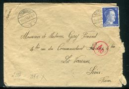 Allemagne - Enveloppe De Jüterbog Pour La France En 1943 - Ref D76 - Briefe U. Dokumente