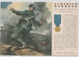 Cartolina - Militare - Alberico Marrone - Guerre 1939-45