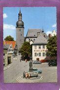 Luftkurort Arnsberg ( Sauerland ) Glockenturm Und Maximilianbrunnen VW Coccinelle VW Marienkäfer - Arnsberg