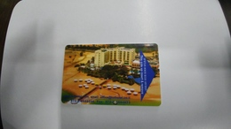 Israel-hotey Key-(468)-LOT-dead Sea Spa-hotal -(looking Out Side)-used+1card Prepiad Free - Hotelkarten