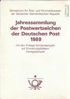 DDR 1989 Gestempelt Jahressammlung Faltblätter Mit Ersttagsstempel - Deutschland