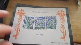 LOT 377195 TIMBRE DE MONACO NEUF** LUXE - Blocs