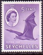 SEYCHELLES 1957 SG #175a 5c MNH - Seychelles (...-1976)