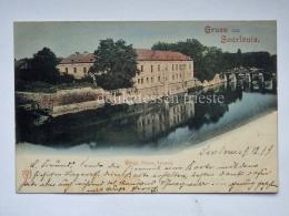 GERMANIA DEUTSCHLAND Gruss Aus Saarlouis  AK Postcard - Kreis Saarlouis