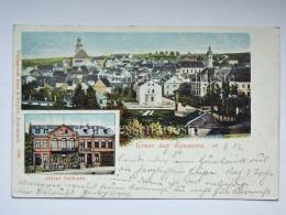GERMANIA DEUTSCHLAND Gruss Aus Simmern Hotel Vollrath  AK Postcard - Simmern