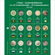 SAFE 7341-16 Münzblatt Mit Vordruck Für 2 EURO - Matériel