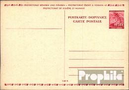 Böhmen Und Mähren P3 Amtliche Postkarte Ungebraucht 1939 Lindenzweig - Böhmen Und Mähren