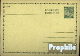 Böhmen Und Mähren P1 Amtliche Postkarte Ungebraucht 1939 Lindenzweig - Böhmen Und Mähren