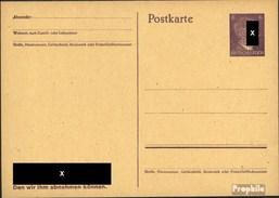 Deutsches Reich P312b Amtliche Postkarte Ungebraucht 1943 Hitler - Alemania