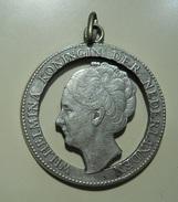 Silver Pendant Made Of A 1 Gulden Silver Coin - Argenterie