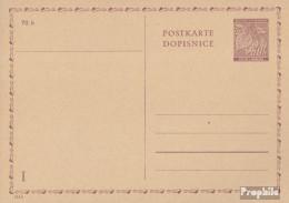 Böhmen Und Mähren P8 Amtliche Postkarte Gefälligkeitsgestempelt Gebraucht 1940 Lindenzweig - Böhmen Und Mähren