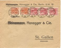 Deutschland, 1920, 2. Gewichtstufe Nach Schweiz, Siehe Scans! - Cartas