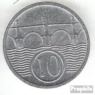 Böhmen Und Mähren Jägernr: 620 1943 Sehr Schön Zink Sehr Schön 1943 10 Heller Wappenlöwe - [ 4] 1933-1945 : Third Reich