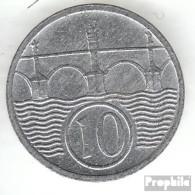 Böhmen Und Mähren Jägernr: 620 1942 Sehr Schön Zink Sehr Schön 1942 10 Heller Wappenlöwe - [ 4] 1933-1945 : Tercer Reich