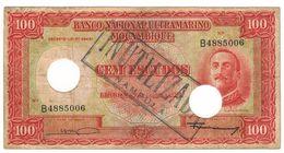 Mozambique 100 Esc. 1958, Inutilizado, F+. - Mozambique