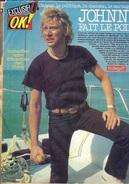 """JOHNNY HALLIDAY -  REVUE """"OK"""" D'avril 1980 - """" Johnny à QUIBERON Fait Le Point"""" - 091217 - Journaux - Quotidiens"""