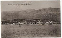 "General View "" Khios "" Island Turkish Khos  Turkey  Edit Umberto Adinolfi Malta  Written From Malta - Grecia"