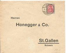 Deutschland, 1922, Coeln, Mi 153, Einzelfrankatur Nach Schweiz, Siehe Scans! - Sin Clasificación