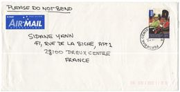 AUSTRALIA - 2009 - 2,05 Queen's Birthday - Air Mail - Viaggiata Da Perth Per Dreux, France - 2000-09 Elizabeth II