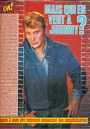 """JOHNNY HALLIDAY -  REVUE """"OK"""" De Janvier 1981 - """" Mais Qui En Veut à Johnny """" - 101217 - Journaux - Quotidiens"""