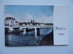Carte De MEILLEURS VOEUX De MELUN 77 Le Pont Du Général LECLERC - Autres