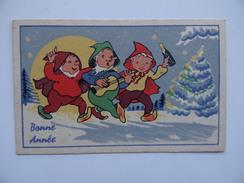 Carte De BONNE ANNEE Voeux - Nouvel An