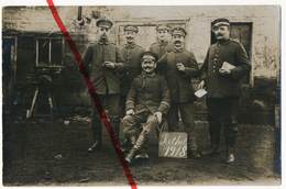 PostCard - Original Foto - Rethel 1918 - Deutsche Soldaten - Rethel