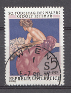 Autriche 1989  Mi.Nr: 1948 Todestagvvon Rudolf Jettmar  Oblitèré / Used / Gebruikt - 1945-.... 2ème République