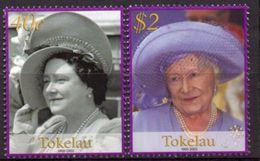 TOKELAU 2002 - Hommage à La Reine Mère - 2 Val Neuf // Mnh - Tokelau