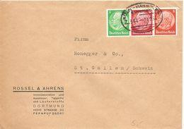 Deutschland, 1936, Brief, Bahnpost, Köln-Hannover Nach Schweiz, Siehe Scans! - Allemagne