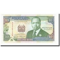 Kenya, 10 Shillings, 1993-07-01, KM:24e, NEUF - Kenya